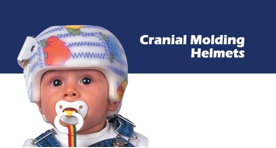 کراینالCranial remodeling  مشخصات : برای درمان دفورمیتی های پلاگیوسفالی، براکی سفالی و دیگر دفورمیتی هایی که استخوان جمجمه را دفورمه می کند. این وسیله برای ایجاد تقارن در استخوان جمجمه تجویز می شود. ارتوزهای کرانیال برای کودک راحت هستند و با رشد سر و سیستم عصبی کودک تداخلی ندارند. اندیکاسیون: کودکان بین 3 تا 18 ماه مبتلا به انواع دفورمیتی های استخوان جمجمه مانند پلاگیوسفالی و براکی سفالی.